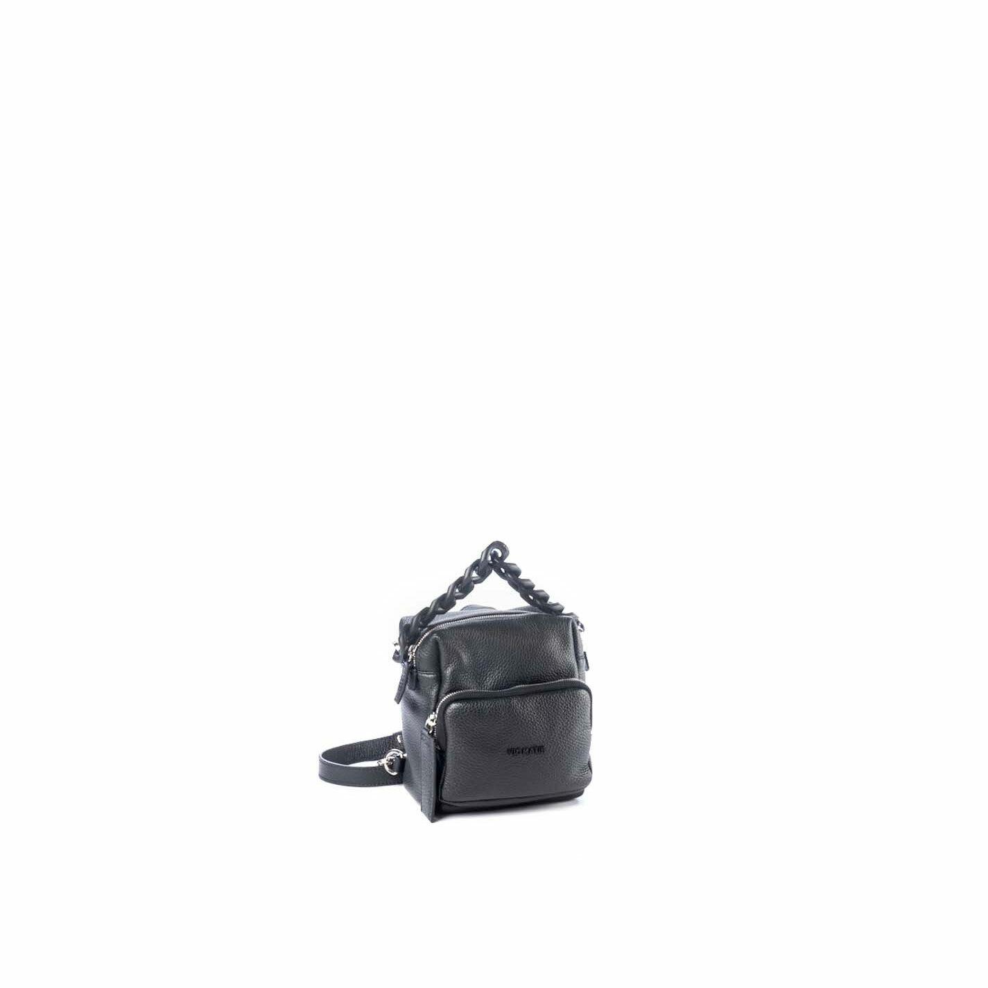 Angy<br />Mini zaino squadrato nero