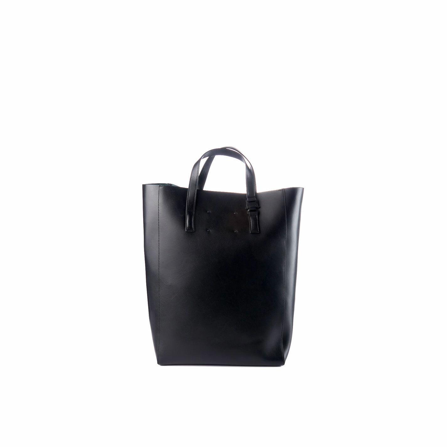 Olivia<br> Large black shopper bag